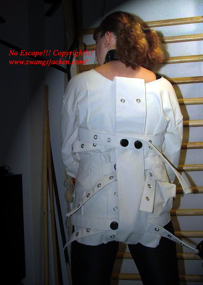 Straight Jacket Diaper Jacketin